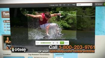 GoDaddy Website Builder TV Spot, '$1 Per Month' - Thumbnail 6