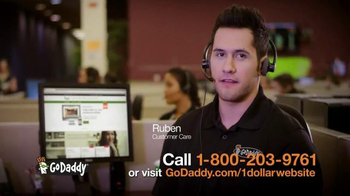 GoDaddy Website Builder TV Spot, '$1 Per Month' - Thumbnail 8