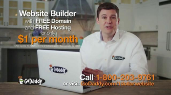 GoDaddy Website Builder TV Spot, '$1 Per Month' - Thumbnail 9