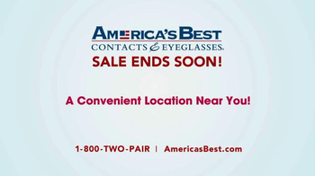 America's Best Contacts and Eyeglasses Designer Sale TV Spot - Thumbnail 10