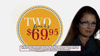 America's Best Contacts and Eyeglasses Designer Sale TV Spot - Thumbnail 3