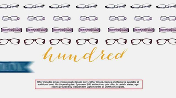 America's Best Contacts and Eyeglasses Designer Sale TV Spot - Thumbnail 4