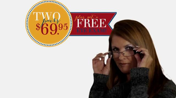 America's Best Contacts and Eyeglasses Designer Sale TV Spot - Thumbnail 8