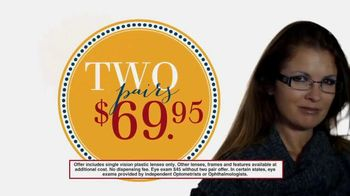 America's Best Contacts and Eyeglasses Designer Sale TV Spot
