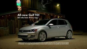 2014 Volkswagen Golf TDI TV Spot, 'Road Trip' - Thumbnail 9