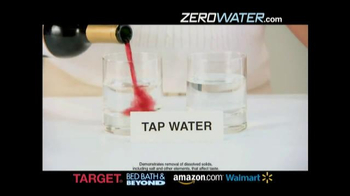 Zero Water TV Spot, 'All 000's for a Pure Taste' - Thumbnail 1