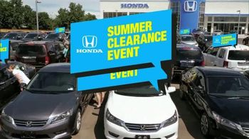 Honda Summer Clearance Event TV Spot, 'Cool Technology: 2014 Civic' - Thumbnail 2