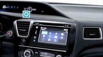 Honda Summer Clearance Event TV Spot, 'Cool Technology: 2014 Civic' - Thumbnail 4