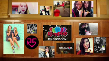 Ring Pop Gummies TV Spot, 'Keep On Rocking' Featuring R5 - Thumbnail 8