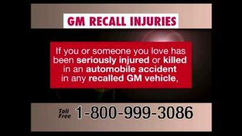 Pulaski & Middleman TV Spot, 'GM Recall Injuries'