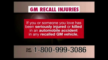 Pulaski & Middleman TV Spot, 'GM Recall Injuries' - Thumbnail 1