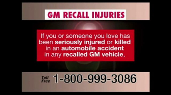 Pulaski & Middleman TV Spot, 'GM Recall Injuries' - Thumbnail 2