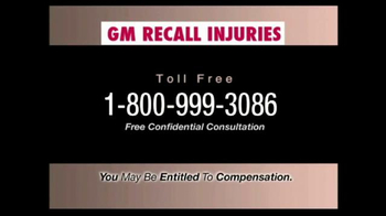 Pulaski & Middleman TV Spot, 'GM Recall Injuries' - Thumbnail 4