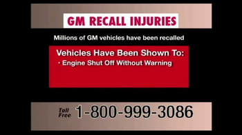 Pulaski & Middleman TV Spot, 'GM Recall Injuries' - Thumbnail 5