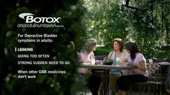 BOTOX TV Spot, 'Calm Your Bladder'