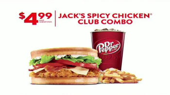 Jack in the Box Spicy Chicken Club Combo TV Spot, 'Sobras' [Spanish] - Thumbnail 10