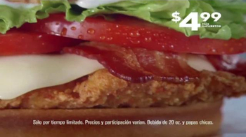 Jack in the Box Spicy Chicken Club Combo TV Spot, 'Sobras' [Spanish] - Thumbnail 6