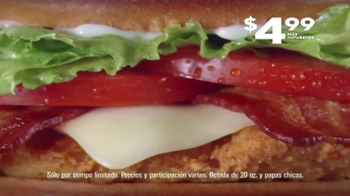 Jack in the Box Spicy Chicken Club Combo TV Spot, 'Sobras' [Spanish] - Thumbnail 7