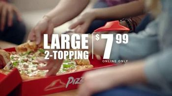 Pizza Hut TV Spot, '$7.99 Online Deal'