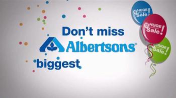 Albertsons Anniversary Sale TV Spot - Thumbnail 7