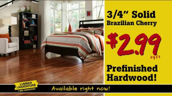 Lumber Liquidators Flooring Deals TV Spot - Thumbnail 3