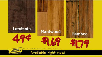 Lumber Liquidators Flooring Deals TV Spot - Thumbnail 6