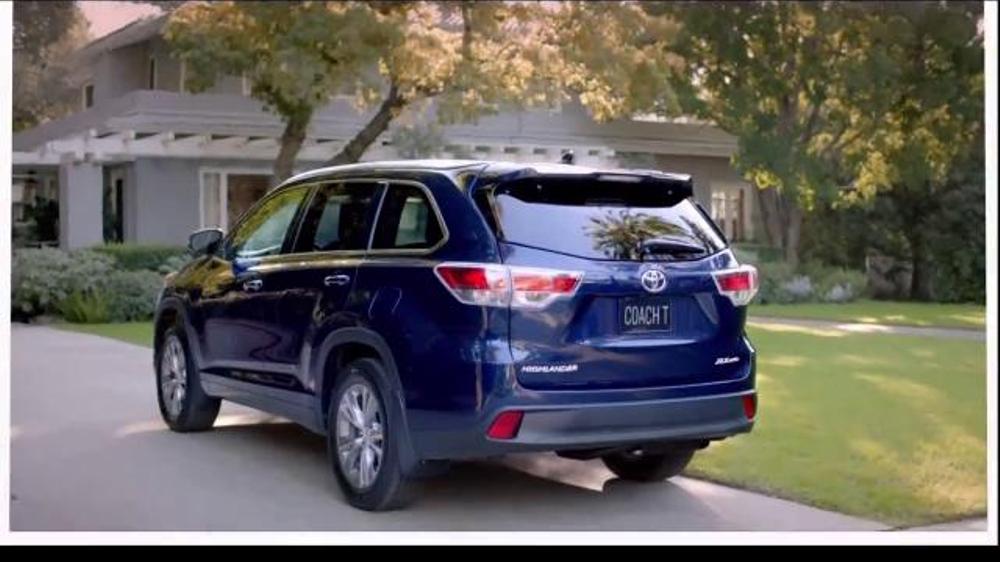 2014 Toyota Highlander TV Commercial, 'Coach T: Dinner ...