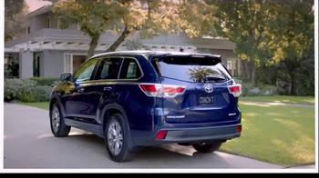 2014 Toyota Highlander TV Spot, 'Coach T: Dinner' - Thumbnail 9