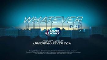 Bud Light TV Spot, 'Whatever, USA: Real' - Thumbnail 10