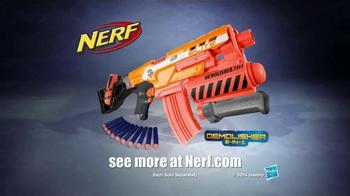 Nerf Demolisher 2-in-1 Blaster TV Spot, 'Dessert Double Demolishing' - Thumbnail 7