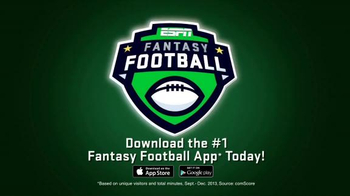 ESPN Fantasy Football App TV Spot, 'Do Everything'