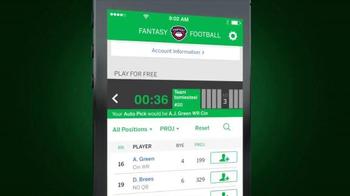 ESPN Fantasy Football App TV Spot, 'Do Everything' - Thumbnail 5