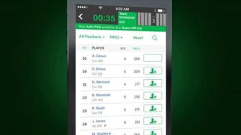ESPN Fantasy Football App TV Spot, 'Do Everything' - Thumbnail 6