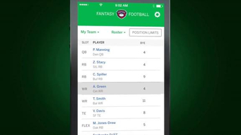 ESPN Fantasy Football App TV Spot, 'Do Everything' - Thumbnail 7