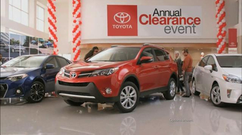 Toyota Annual Clearance Event TV Spot, 'Hurry In' - Thumbnail 4