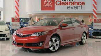 Toyota Annual Clearance Event TV Spot, 'Hurry In' - Thumbnail 5