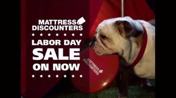 Mattress Discounters Labor Day Sale TV Spot, 'Work Like a Dog'