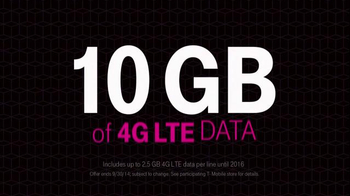 T-Mobile TV Spot, 'Four Lines for $100 a Month' - Thumbnail 7