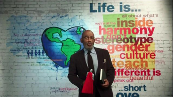 The More You Know TV Spot, 'People Who Are Different' Featuring Al Roker - Thumbnail 1