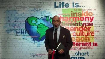 The More You Know TV Spot, 'People Who Are Different' Featuring Al Roker - Thumbnail 5