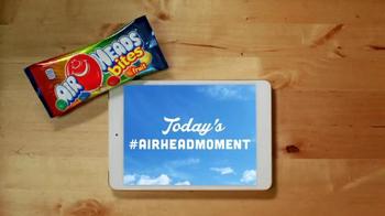 Airheads Bites TV Spot, 'Blue Raspberry Phone Blooper' - Thumbnail 1