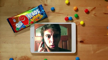 Airheads Bites TV Spot, 'Blue Raspberry Phone Blooper'