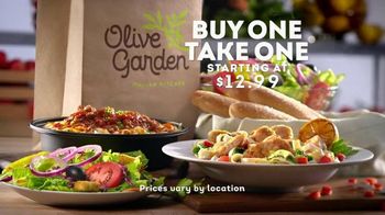 Olive Garden TV Spot, 'Buy One, Take One For Later'