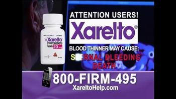 1-800-FIRM-495 TV Spot, 'Xarelto Help' - Thumbnail 2