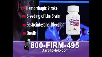 1-800-FIRM-495 TV Spot, 'Xarelto Help' - Thumbnail 5