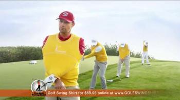 Golf Swing Shirt TV Spot, 'Connection is the Best' Ft. Padraig Harrington - Thumbnail 4