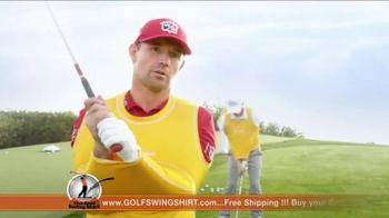 Golf Swing Shirt TV Spot, 'Connection is the Best' Ft. Padraig Harrington - Thumbnail 7