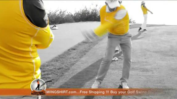 Golf Swing Shirt TV Spot, 'Connection is the Best' Ft. Padraig Harrington - Thumbnail 8