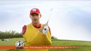 Golf Swing Shirt TV Spot, 'Connection is the Best' Ft. Padraig Harrington - Thumbnail 9