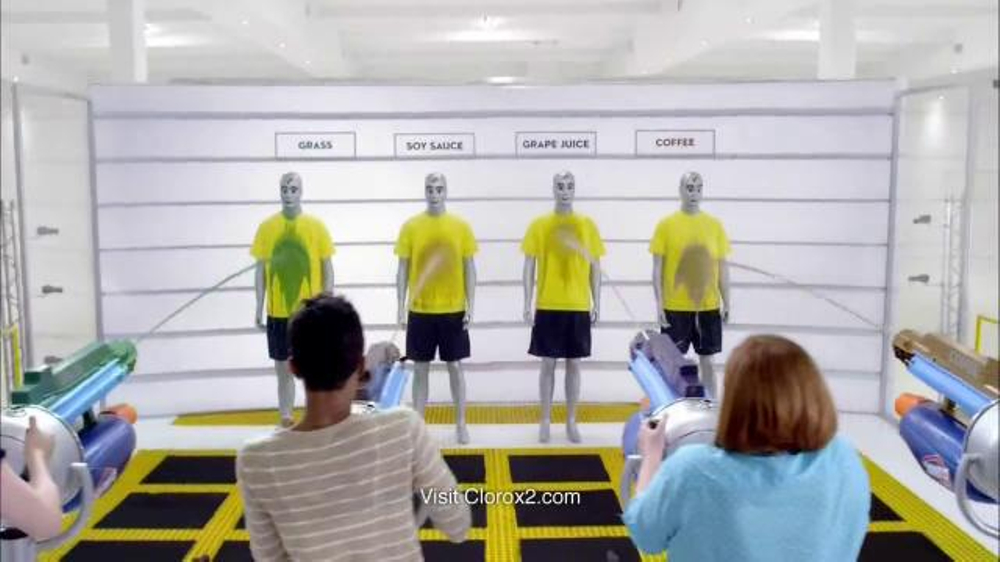 Clorox 2 TV Commercial, 'Stain Test'